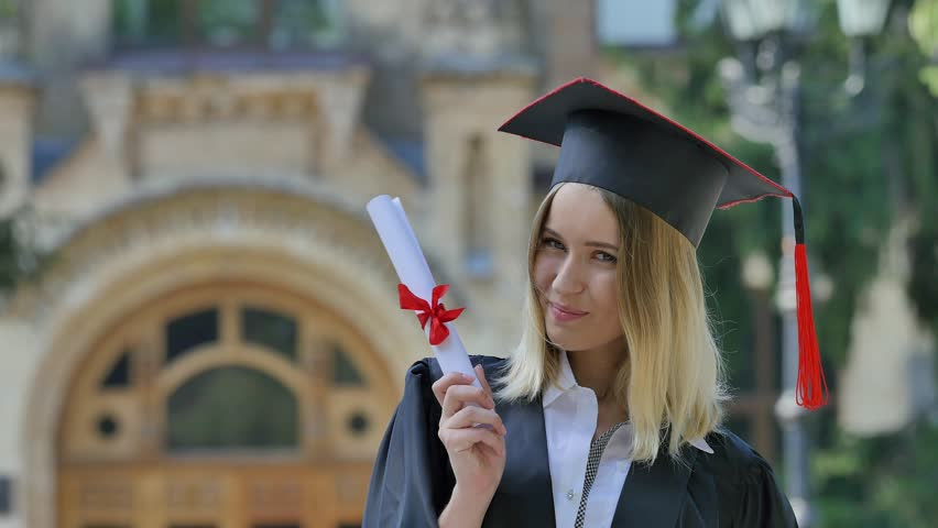 Image result for Happy Phd woman