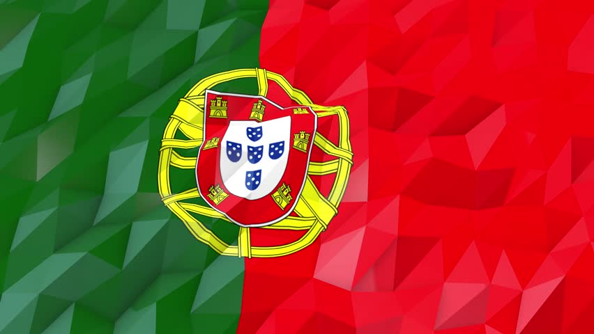 Flag Of Portugal 3d Wallpaper Stock Footage Video 100 Royalty Free