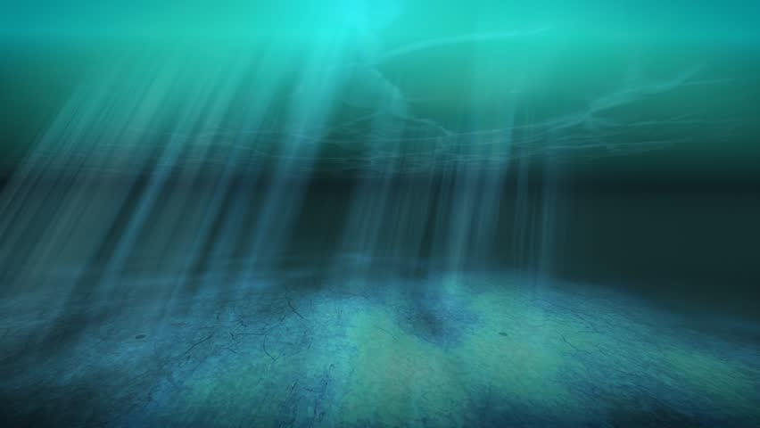 Stock video of tropical underwater animated background ...