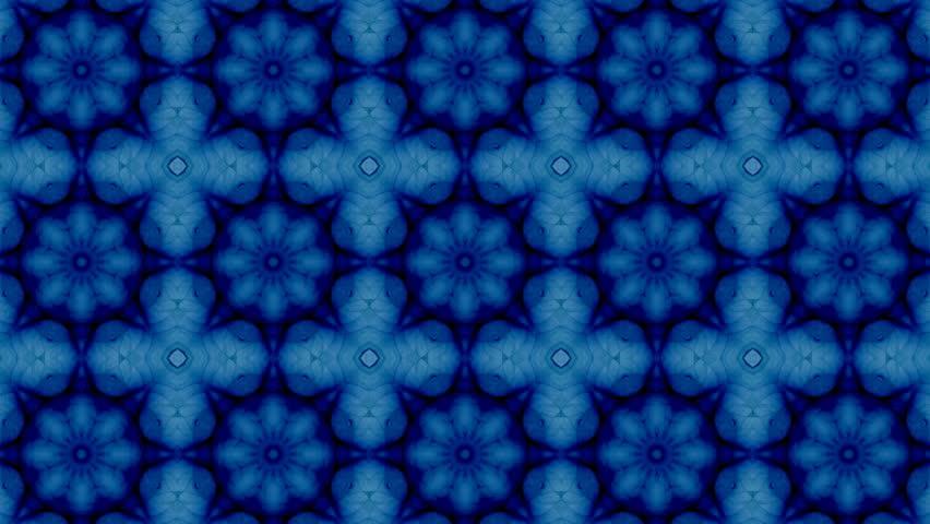 Mosaic fractal geometric kaleidoscopic    Shutterstock HD Video #19207534