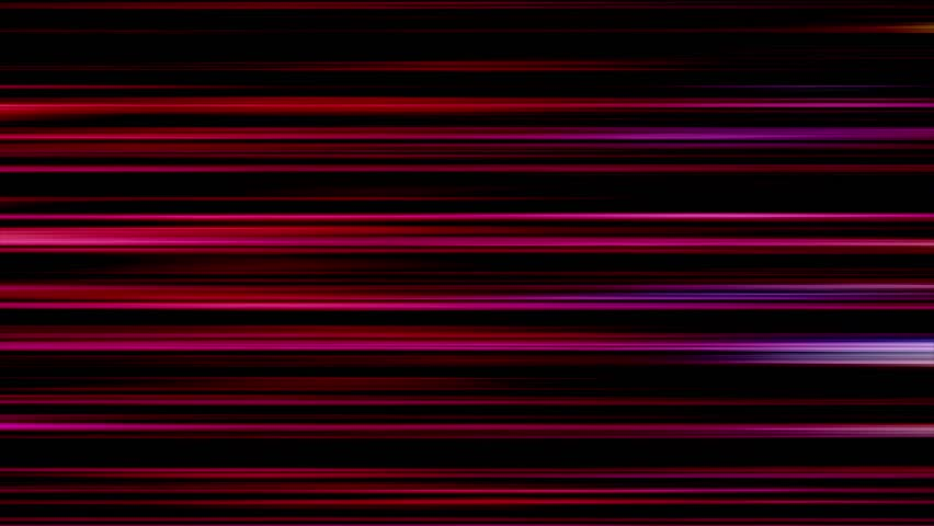 Motion background animation HD - Horizontal colorful lines | Shutterstock HD Video #19399084