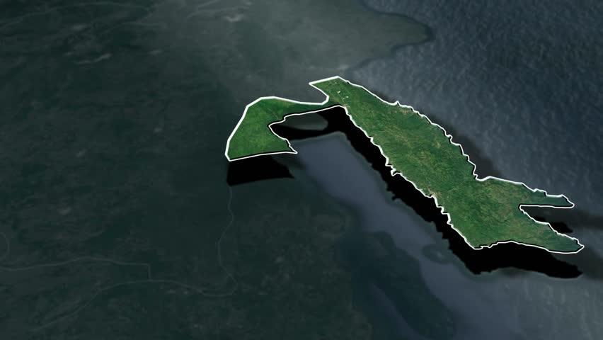 Samana with Coat Of Arms Animation Map Provinces of Dominican Republic