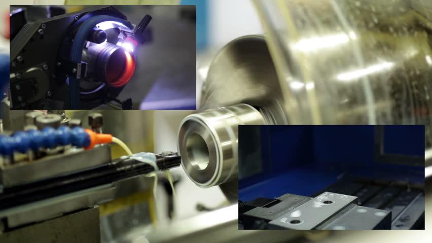 Montage metal industry | Shutterstock HD Video #1960174