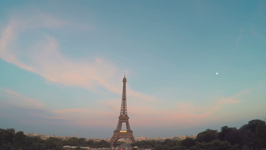 Eiffel Tower Paris, France  | Shutterstock HD Video #19624414