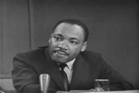 Martin Luther King discusses the manipulation of voter\xCDs rights in the South in 1963. (1960s)