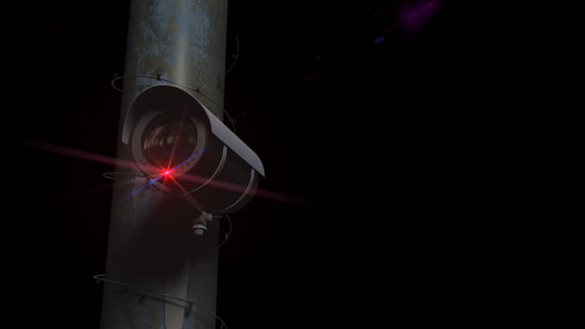 Security Camera LOOP with razor wire