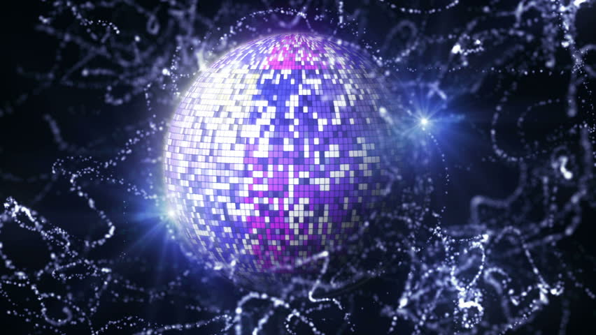 Disco Ball in Particle   Shutterstock HD Video #1980154