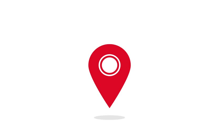 Map Pin Stock Footage Video