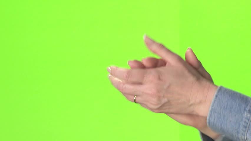 Female hand waving | Shutterstock HD Video #1996109
