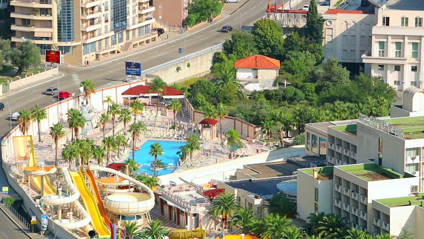 Luxury Hotel Mediteran On The Adriatic Coast In Budva, Montenegro ...