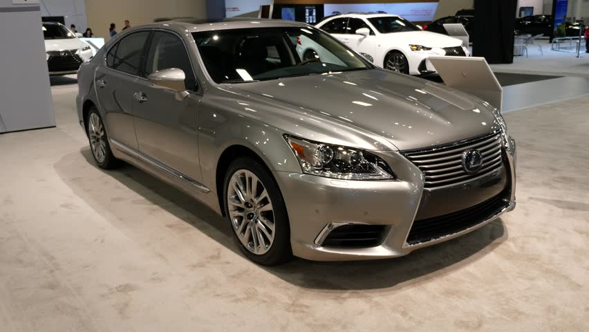 Miami Usa September 10 2016 Lexus Ls 460 Sedan On Display During