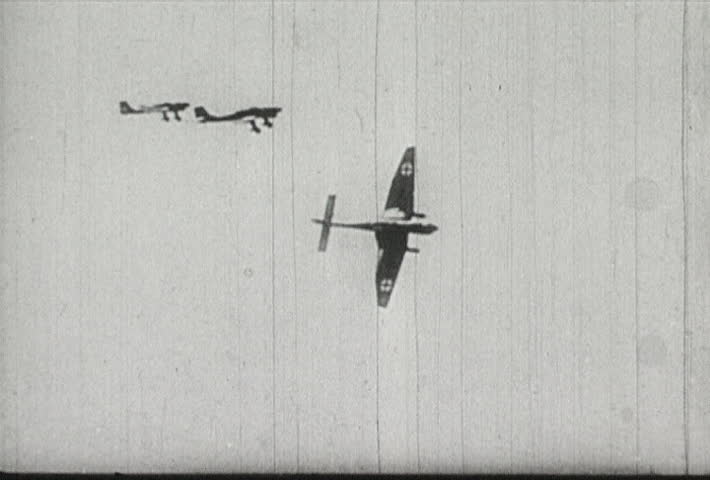 EUROPE - CIRCA 1942-1944: World War II, Nazi Dive Bombers Attack