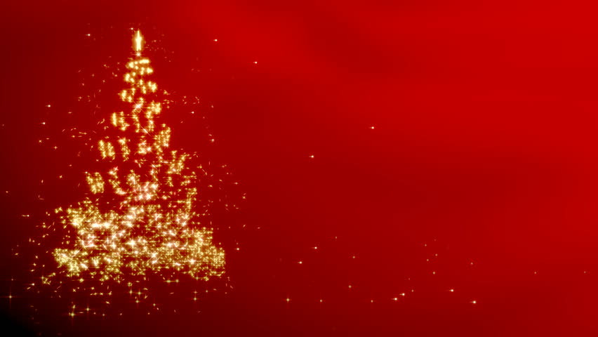 Red Christmas Tree.Christmas Star With Rotating Christmas Stock Footage Video 100 Royalty Free 20147674 Shutterstock