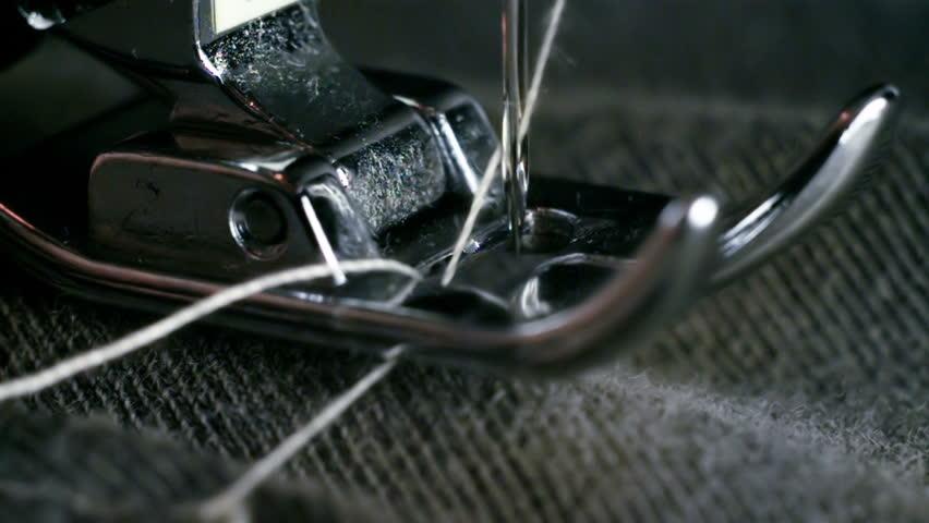 Sewing Machine Needle Super Slow Motion