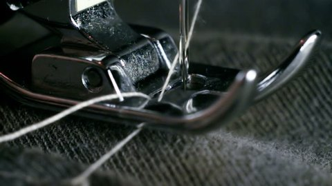 Sewing Machine Needle Super Slow Motion