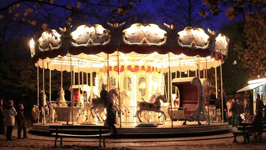 Carousel in Paris | Shutterstock HD Video #2018890