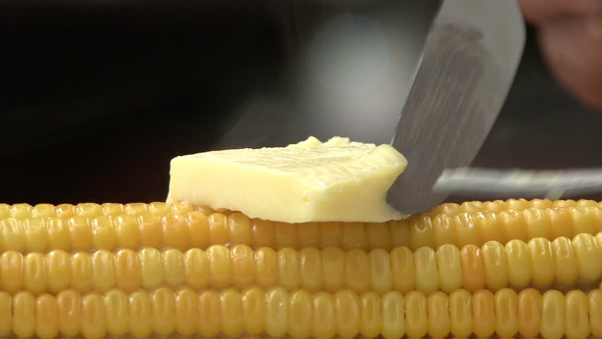 Sweetcorn and butter melting
