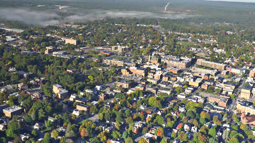 Sarasota Springs AERIAL close. Saratoga Springs is a city in Saratoga County, New York, United States, that is also widely known as simply Saratoga