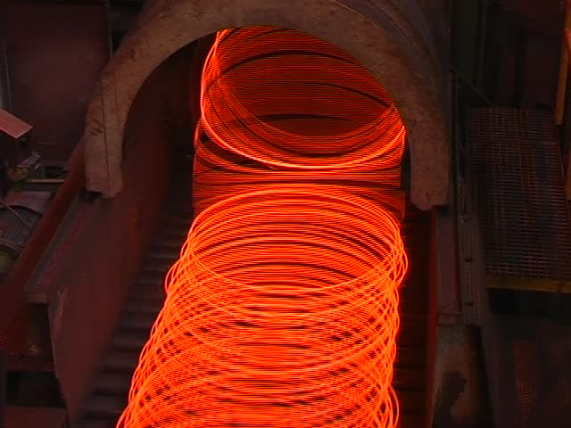 steel wire production