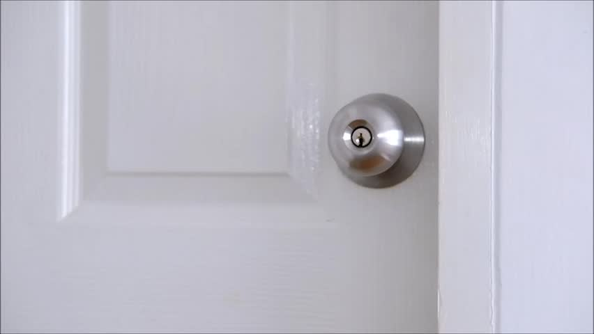 A guy opening walking in the room and closing door - HD stock video clip & A Guy Opening Walking In The Room And Closing Door Stock Footage ... pezcame.com
