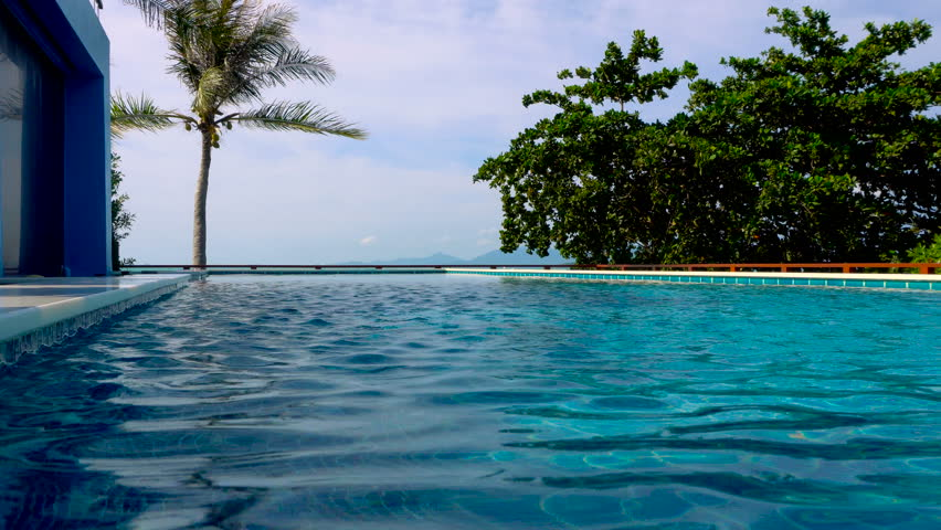 Infinity Edge Swimming Pool Stock Footage Video (100% Royalty-free)  20659594   Shutterstock