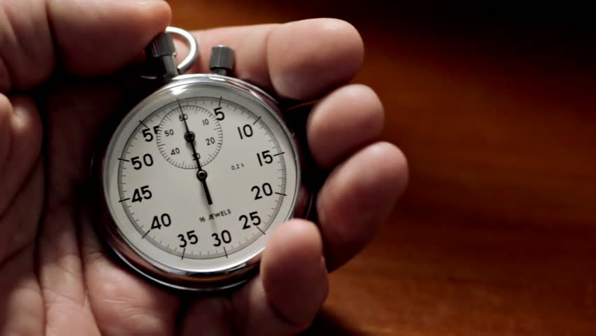 Man with Stopwatch