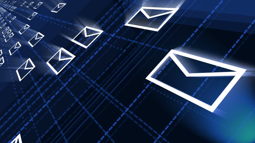 4k,background Of The Envelope E-Mail,flying Mails,future Tech ...