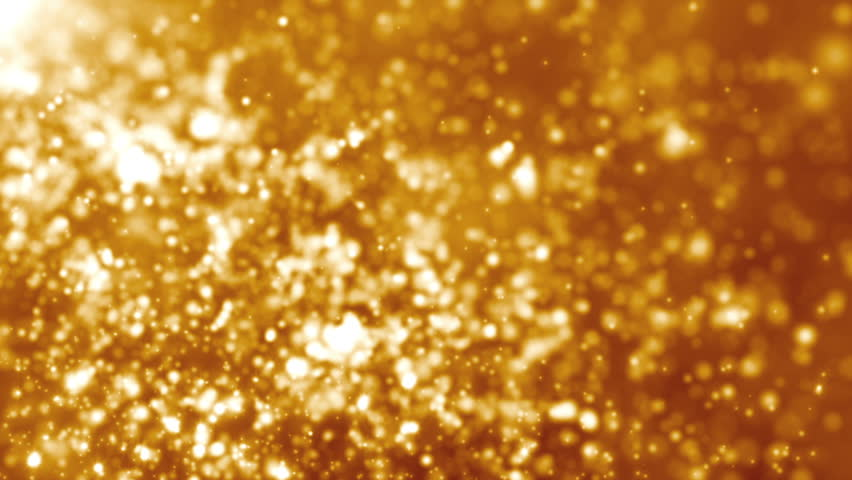 Golden dust particle seamless background