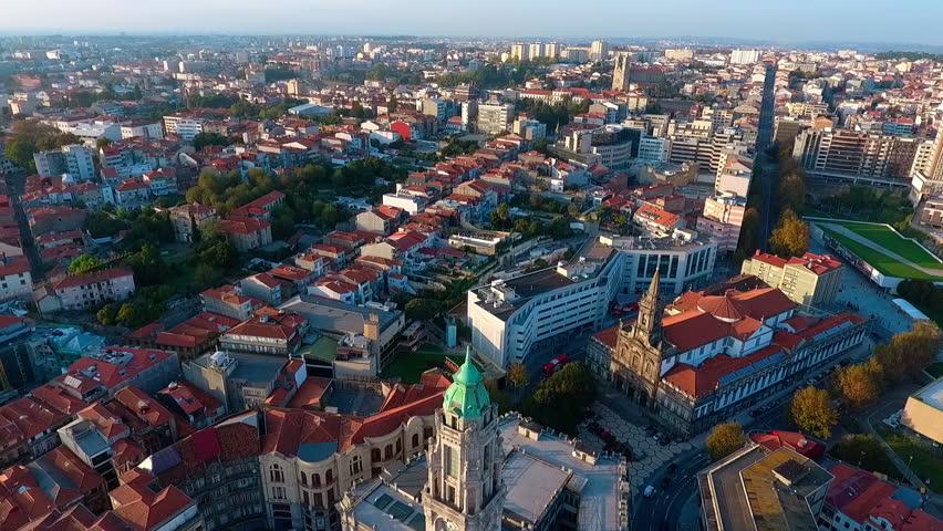 Aerial view Porto - Portugal