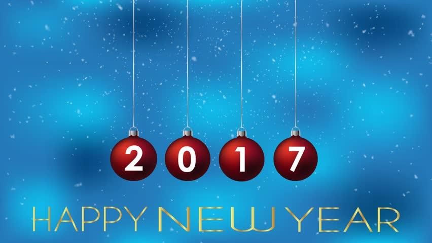 2017 Happy New Year background. | Shutterstock HD Video #20963794