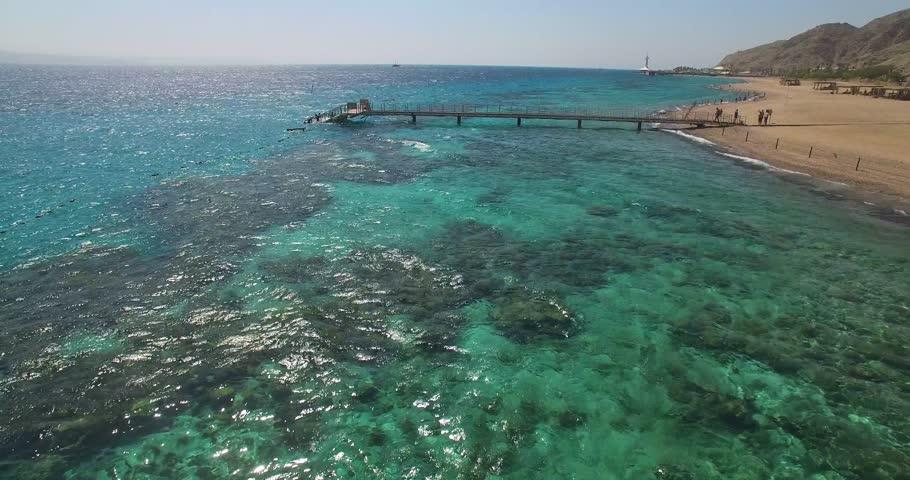 Bridge views of sea coral   Shutterstock HD Video #20969314