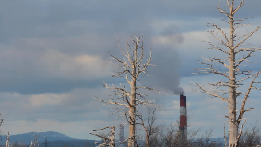 Dead Zone Around Copper Nickel Plant Air And Soil
