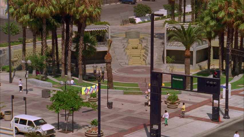 Day High down Metro Link Blue Line train passing by, palms Long Beach | Shutterstock HD Video #21142684
