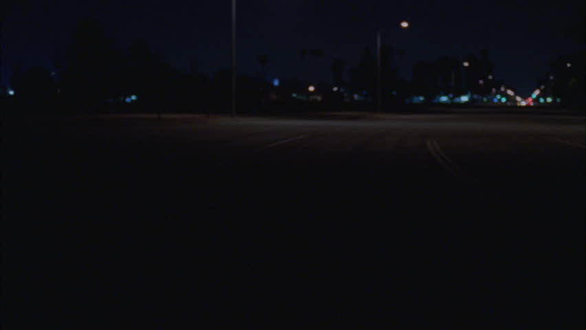 Night straight back process plates dark rural road, eventually comes stop various angles | Shutterstock HD Video #21208594