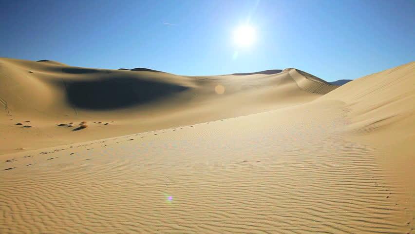 Desert sand dunes in a dry wilderness #2127482