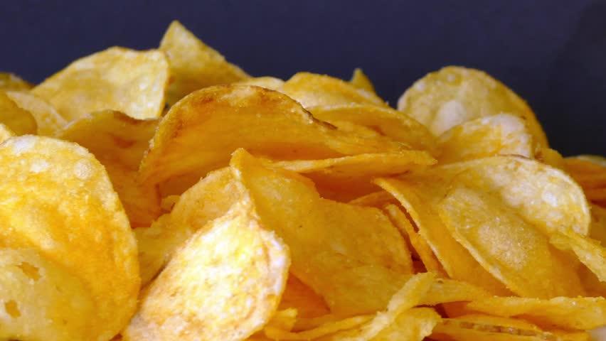 Rotating potato chips   Shutterstock HD Video #21352444