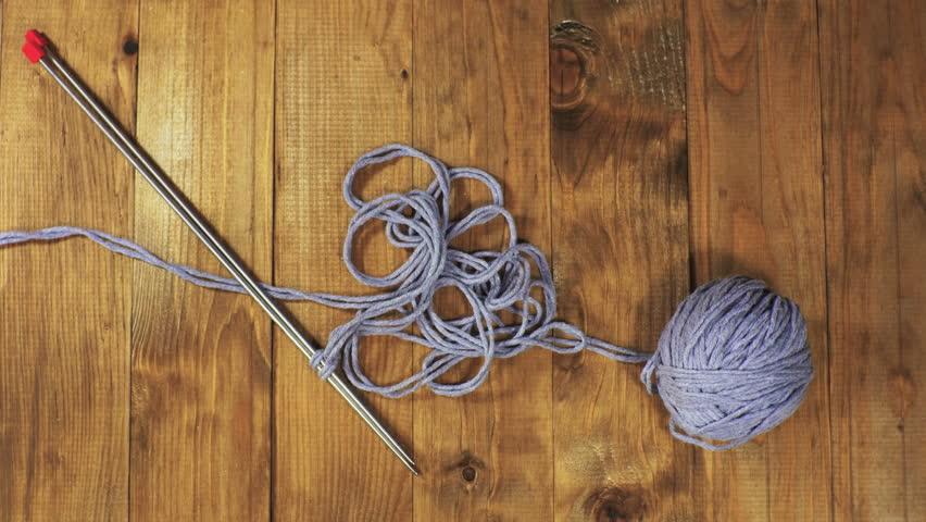 Woman's hands knitting   Shutterstock HD Video #21373534