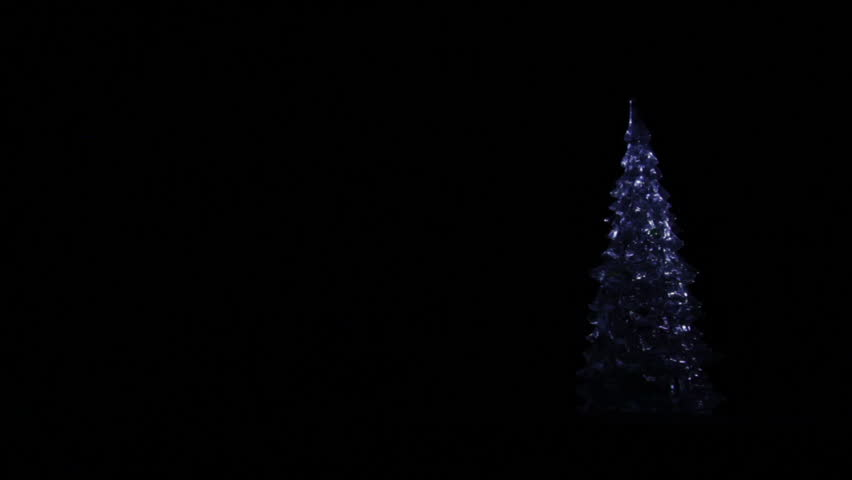 Dark Christmas.Christmas Decoration Christmas Tree Rotating Stock Footage Video 100 Royalty Free 21469054 Shutterstock