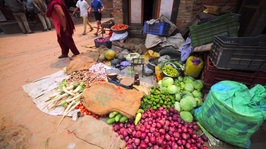 Bhaktapur, Nepal - April 12, Stock Footage Video (100% Royalty-free)  21469504 | Shutterstock