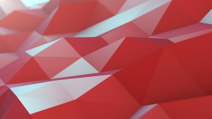 Polygons Waves Perfect seamless loop of slowmotion polygon waves. Background animation. Abstract 3d rendered background. 4K, UHD.