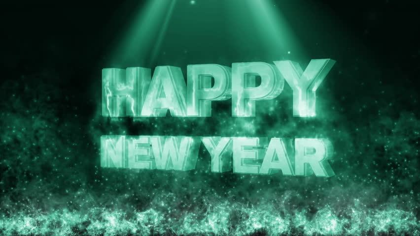 Happy new year with fire flame generic    Shutterstock HD Video #21563614