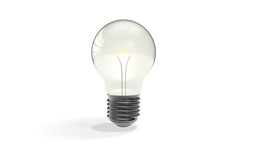 Rotating lightbulb | Shutterstock HD Video #2160494