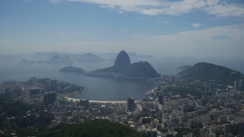 Rio de Janeiro, view from the Corcovado | Shutterstock HD Video #21673204
