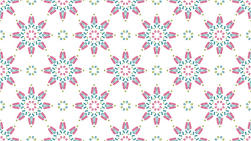 Wallpaper 4K Resolution Full Ultra HD. Vintage universal beautiful background with animated eastern patterns. Retro fashion backdrop with geometric ornament. | Shutterstock HD Video #21675754
