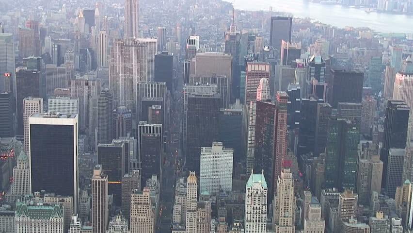 New York City Aerial over Midtown Manhattan | Shutterstock HD Video #2168654