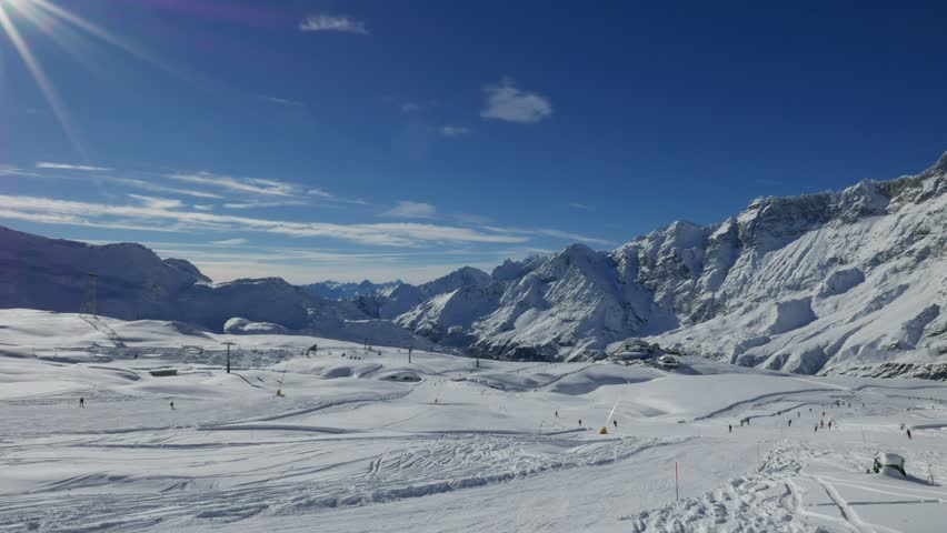 Cervinia ( Italy ) time lapse | Shutterstock HD Video #21711304