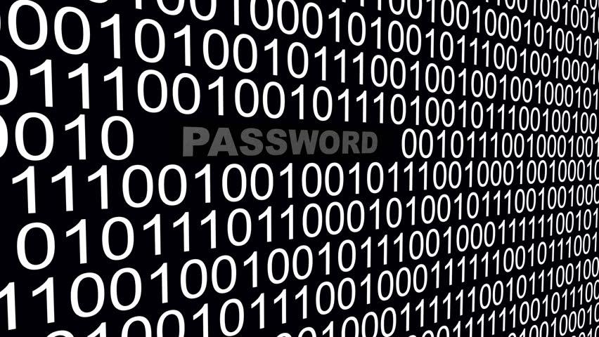 4k,Binary source code,password,data digital display,future tech background. cg_03588_4k