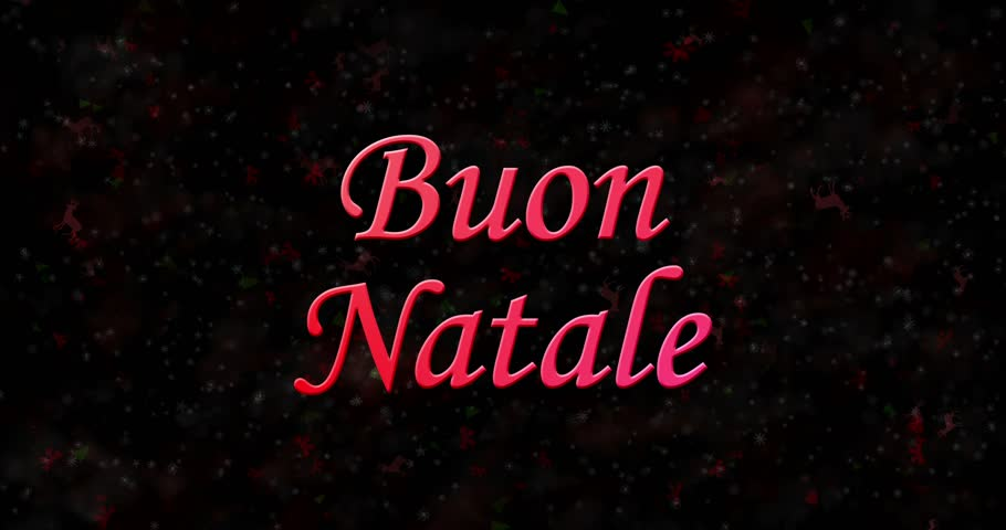 Buon Natale Video.Merry Christmas Text In Italian Stock Footage Video 100 Royalty Free 21980494 Shutterstock