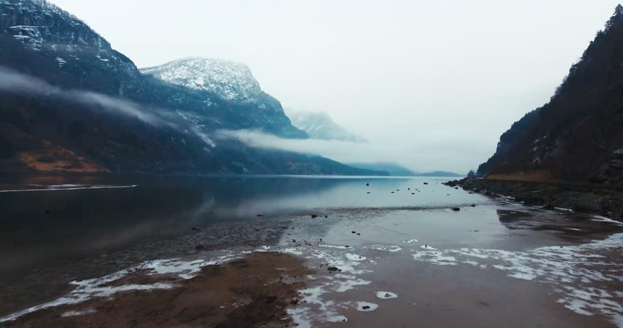 Landscape in epic mood