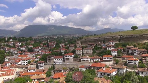 Beautiful View of Safranbolu town, Safranbolu, on May 31, 2014